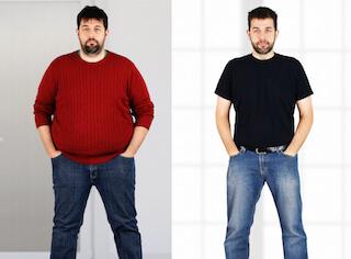 Come ho perso la metà dei miei chili Diet Duet